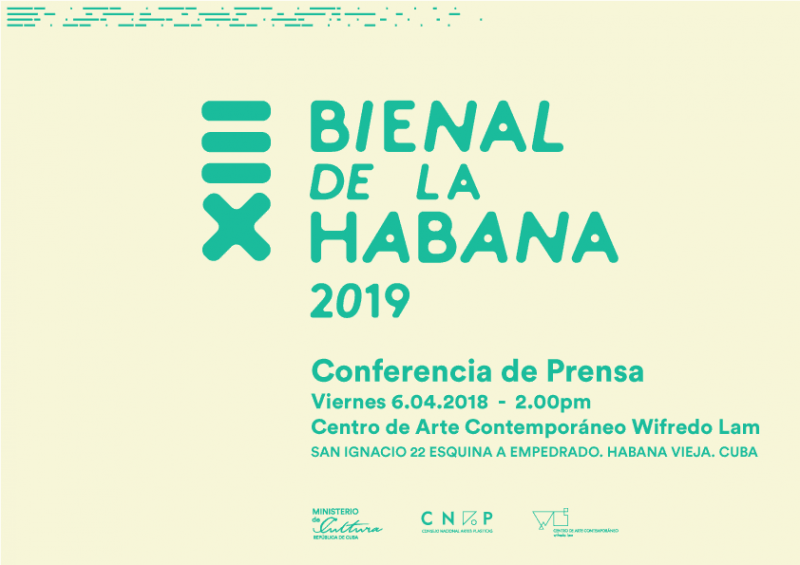 13th Havana Biennial 2019 Press Conference
